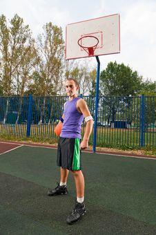 Free Street Basketball Stock Photo - 15575900
