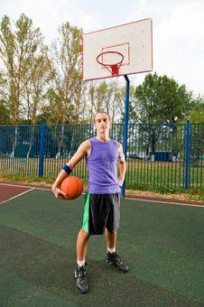 Free Street Basketball Stock Image - 15575901