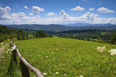 Free Landscape Mountains Hills And Meadow Stock Photography - 15576452