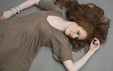 Free Beautiful Redhead Young Woman Stock Image - 15576971