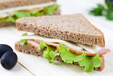 Free Sandwich Royalty Free Stock Photo - 15577515