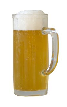 Free Beer Mug On A White Royalty Free Stock Image - 15577666