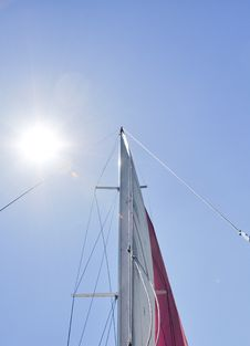 Free Sun In Sails And Mast Stock Photography - 15577852