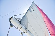 Free Sail With Full Wind Royalty Free Stock Images - 15577869