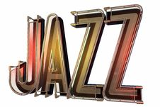 Abstract Jazz Background Stock Photography