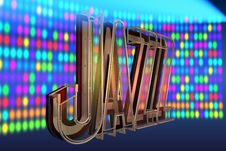 Free Abstract Jazz Background Royalty Free Stock Photo - 15578155