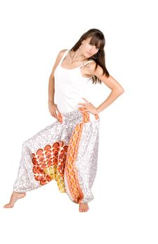 Free Girl In Ethnic Clothes Stock Photos - 15578433