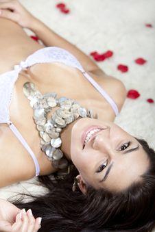 Free Model In Underwear Royalty Free Stock Photo - 15578445