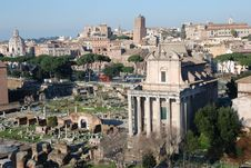 Free Italy Monumental View Of Rome Royalty Free Stock Photo - 15578455