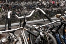 Free Bicycles In Amsterdam Royalty Free Stock Images - 15578459