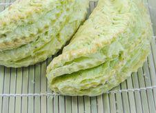 Green Tea Bun Stock Photos