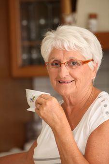Free Closeup Of Senior Woman Royalty Free Stock Image - 15579196