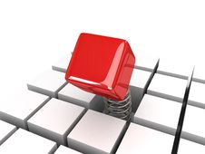 Power Cube Royalty Free Stock Photo