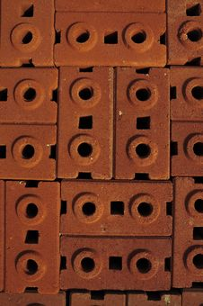Stack Of Bricks Royalty Free Stock Image