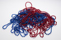 Free Beads Red Blue Stock Photography - 15580602