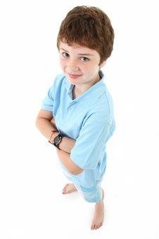 Free Boy Standing Stock Photo - 15580210