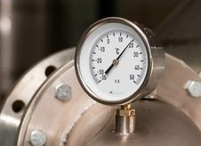 Free Industrial Temperature Meter Stock Photography - 15580562