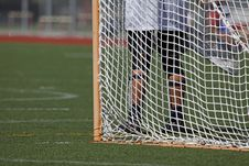 Free Goalie Legs Royalty Free Stock Photos - 15580638