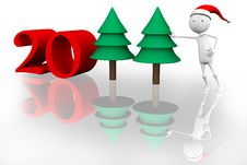 Free New Year 2011 Royalty Free Stock Images - 15581189