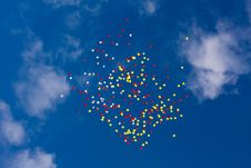 Free A Planty Of Baloons Royalty Free Stock Photos - 15582738