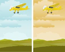Free Single Engine Plane Stock Photography - 15583082