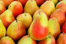 Juicy, Sweet Pears Royalty Free Stock Photo