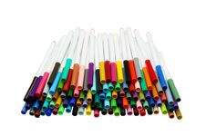 Free Markers Royalty Free Stock Photo - 15583585