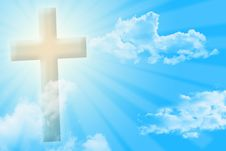 Free Cross And Sky Stock Photography - 15583972