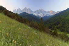 Free Val Di Funes - Santa Maddalena Stock Images - 15584134