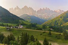 Free Val Di Funes - Santa Maddalena Royalty Free Stock Photos - 15584218