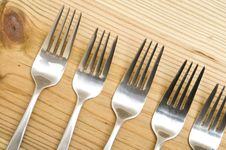 Free Fork On The Wood Stock Images - 15584244