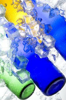 Colour Ice Stock Photos