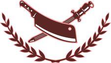 Free Butcher S Knife Blade Sharpener Royalty Free Stock Photo - 15585035