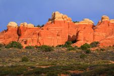 Free Arches National Park Stock Photo - 15585410