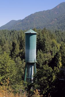 Free Glines Canyon Dam Water Tower Royalty Free Stock Image - 15586566