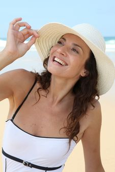 Free Closeup Of Beautiful Woman With Ht Stock Photography - 15586572