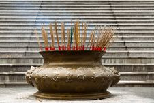 Free Brass Incense Burner Royalty Free Stock Photo - 15587465