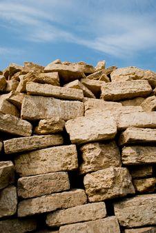 Free Stacked Pile Of Bricks Stock Photos - 15588633
