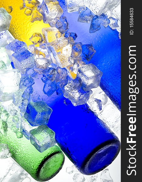 Colour ice