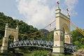Free A Bridge In Garden Royalty Free Stock Photo - 15596995