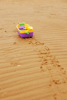 Sandy Beach Stock Photography