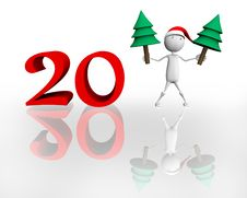 Free Happy New Year 2011 Royalty Free Stock Photography - 15592287