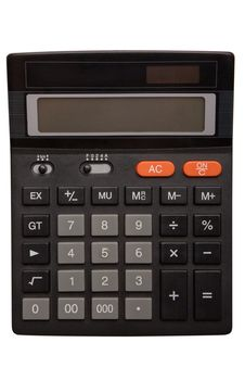 Free Black Calculator Royalty Free Stock Photo - 15593035