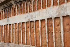 Free Buddha On Wall Stock Photo - 15593150