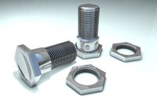 Free Bolts And Nuts Royalty Free Stock Images - 15593199