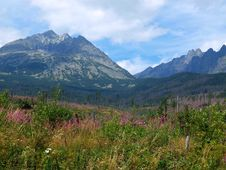 Free Mountains Landscape. Royalty Free Stock Photography - 15593437