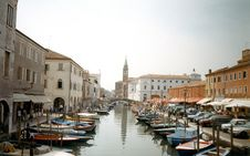 Free Venice Big Channel Royalty Free Stock Photography - 15593577