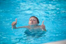 Free Young Swimmer Stock Photography - 15593942