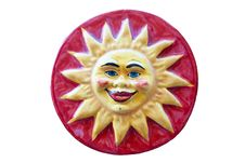 Free Ceramic Adornment The Sun Smiles Royalty Free Stock Photography - 15594577