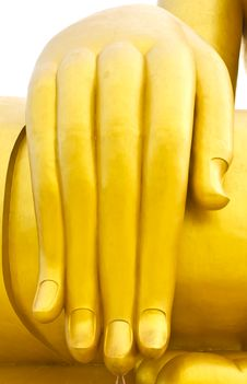 Free Buddha Hand To Hand Stock Image - 15594731